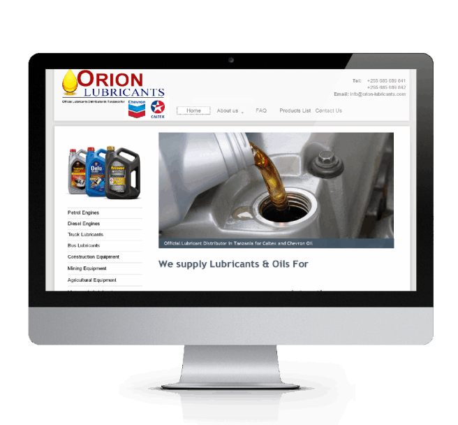 Orion Lubricants